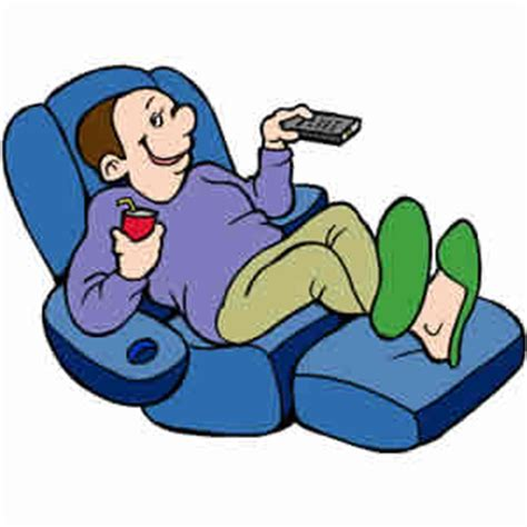 Recliner Clipart by Lazy Clipart