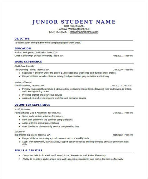 student cv template downloads 45 resume templates pdf doc free premium