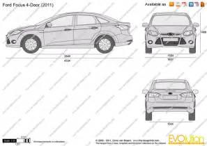 Ford Focus Interior Dimensions by Ford Focus 2012 Dimensions Car Interior Design