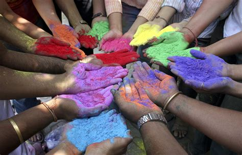 holi the festival of colors photos the big picture boston
