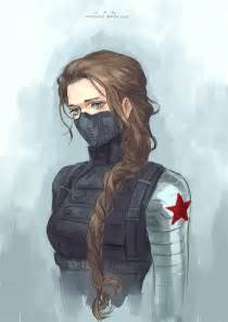 How To Draw Bucky Barnes Female Bucky Barnes Gender Benders Pinterest