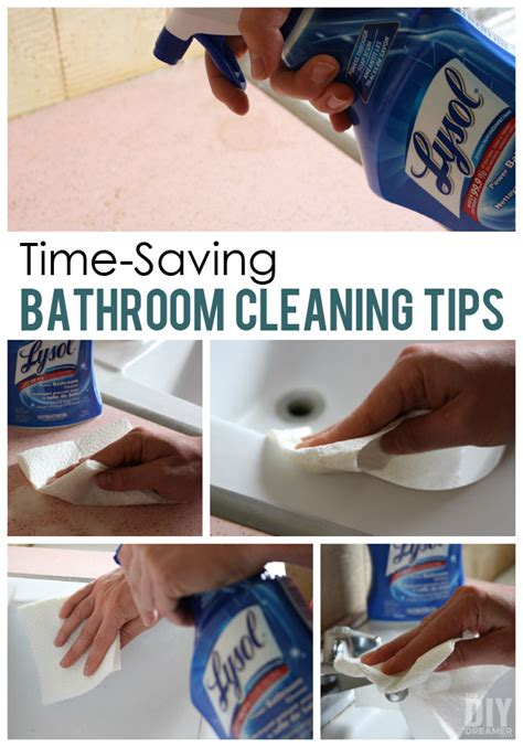 best cleaning tips for bathrooms 12 time saving bathroom cleaning tips