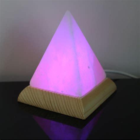 himalayan salt l pyramid himalayan salt usb pyramid l 27102 party supplies