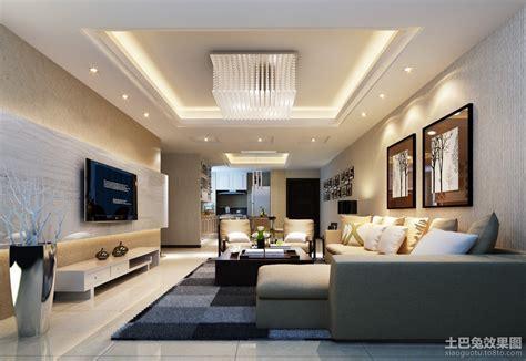 2013现代客厅电视机背景墙装修效果图 土巴兔装修效果图
