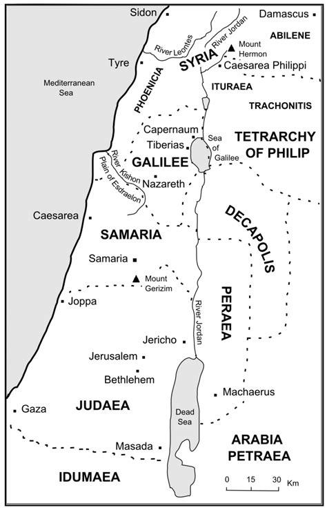 bible journey  rulers  palestine