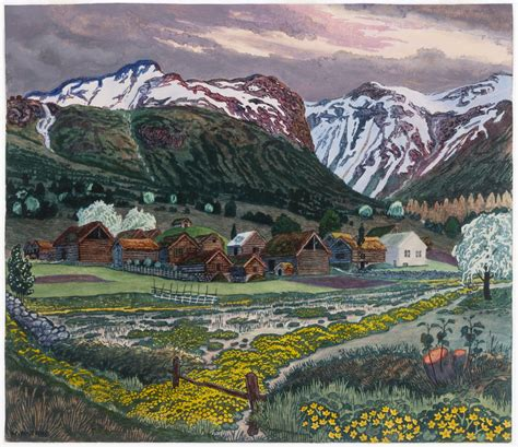 nikolai astrup norway s unknown visionary norwegian arts
