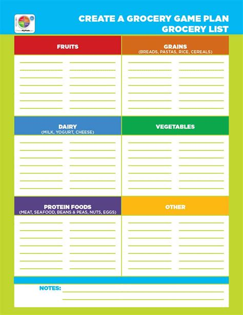 40 Printable Grocery List Templates Shopping List ᐅ Template Lab Food List Template