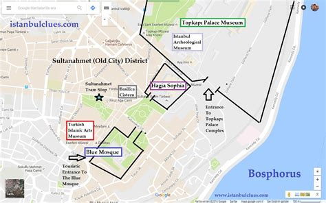 istanbul map tourist attractions istanbul touristic maps for getting around 2018 istanbul