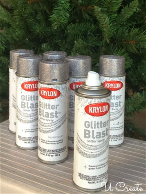 best glitter spray paint add some sparkle to your tree with spray paint