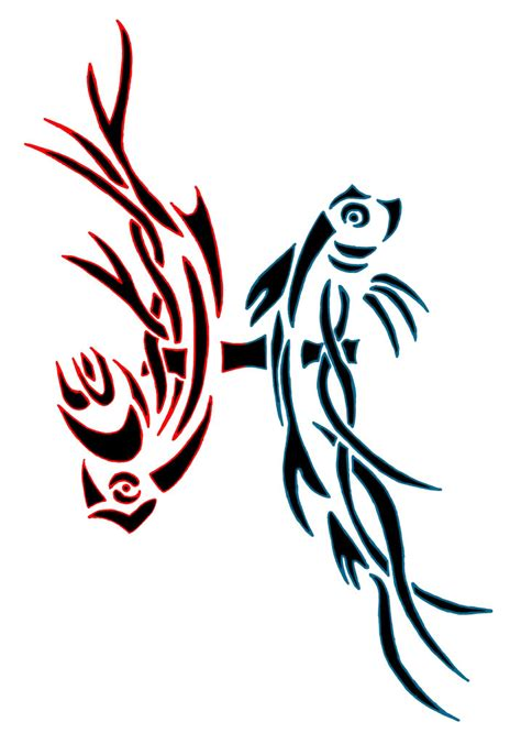 pisces tribal tattoo pisces tattoos and designs page 8