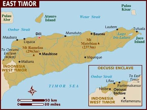 dili dili bud light map of east timor