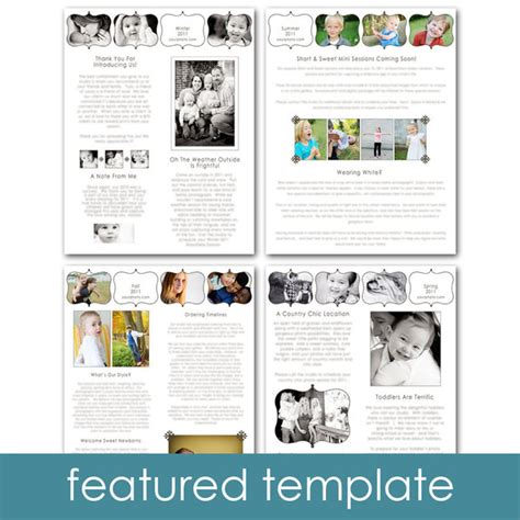 newsletter template ideas i can use pinterest