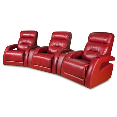 Reclining Seat Theater by Southern Motion Viva 3 Seat Reclining Theater Seating In