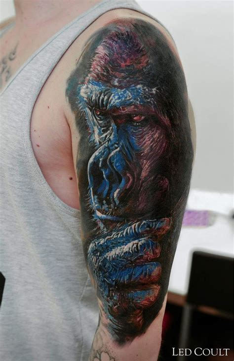 gorilla tattoos 42 best artist led coult images on