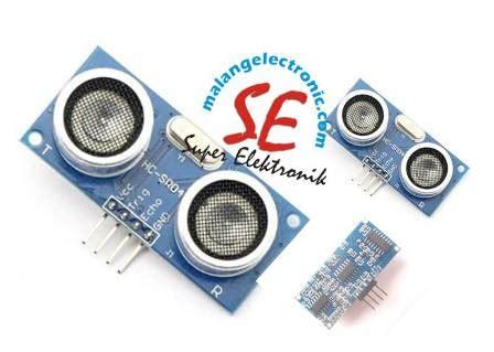 Sensor Jarak Hc Sr04 jual sensor jarak ultrasonik hc sr04 harga murah ultrasonik hc sr04 malang electronic