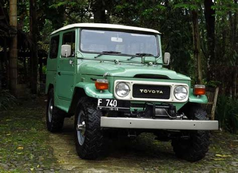 Fj40 Modifikasi by Modifikasi Toyota Fj40 1980 Cukup Dua Kali