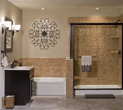 venetian acrylic stone bathroom wall surround � rebath