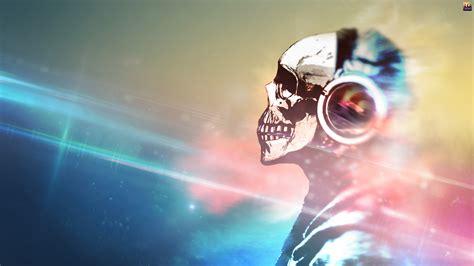 skull headphones wallpapers hd desktop  mobile backgrounds