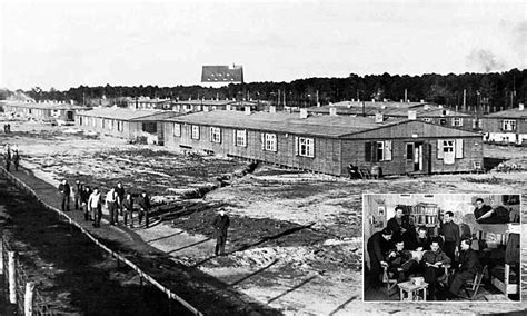 details  great escape pow camp revealed daily mail