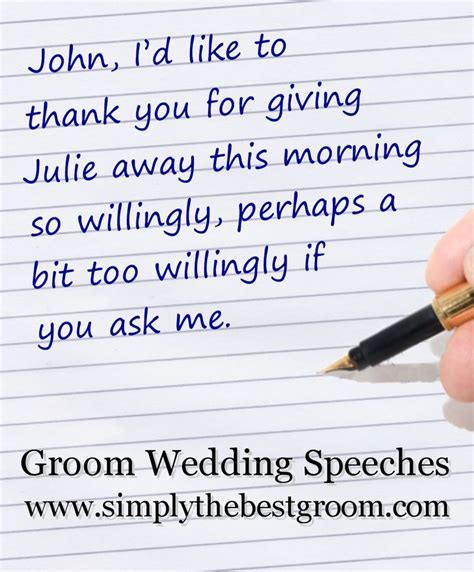 17 Best images about Groom's Speech on Pinterest   Perfect