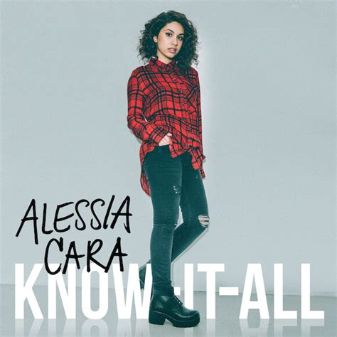 here clean alessia cara alessia cara k 252 ndigt deb 252 talbum know it all an