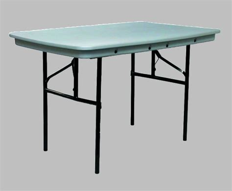 48 Inch Folding Table Commercialite Plastic Folding Table 48 Inch X 30 Inch