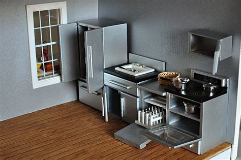 dollhouse furniture kitchen 미니어쳐 on pinterest dollhouse miniatures dollhouses and