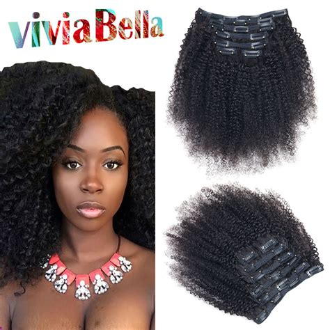 curly clip ins to match natural hair mongolian kinky curly clip in extensions remy indian hair