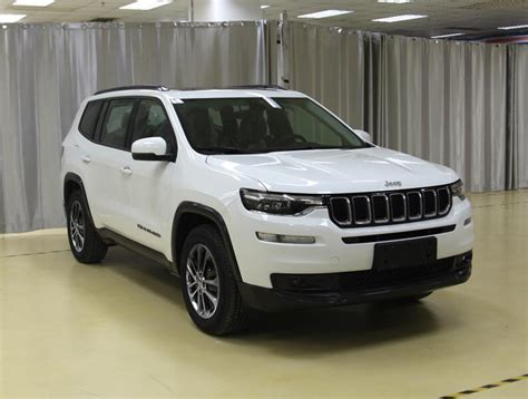 jeep compass 7 seater jeep grand commander is based on jeep compass will offer