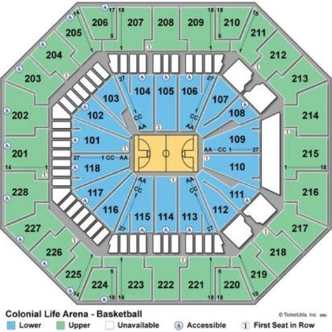 colonial arena seating vipseats colonial arena tickets
