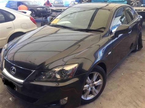 2007 lexus is250 leather sunroof bos auto wrecking parts lexus is250 2007 auto low kms sat nav