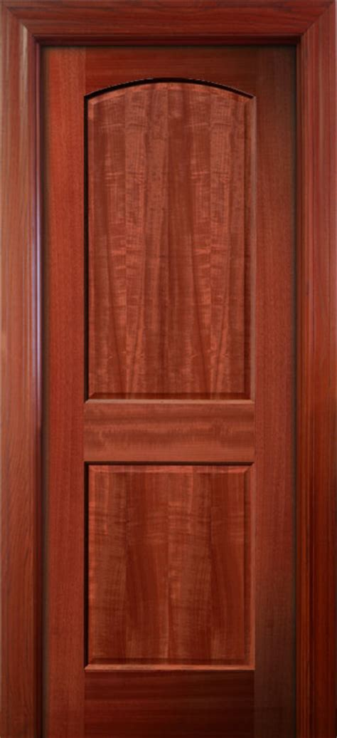 interior wood doors solid mahogany 2 panel doors
