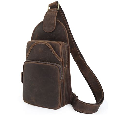 where to buy sling backpacks popular leather sling backpack for buy cheap leather