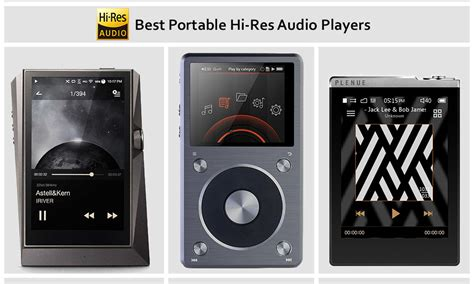 best audio player 10 best portable hi res audio players in 2018