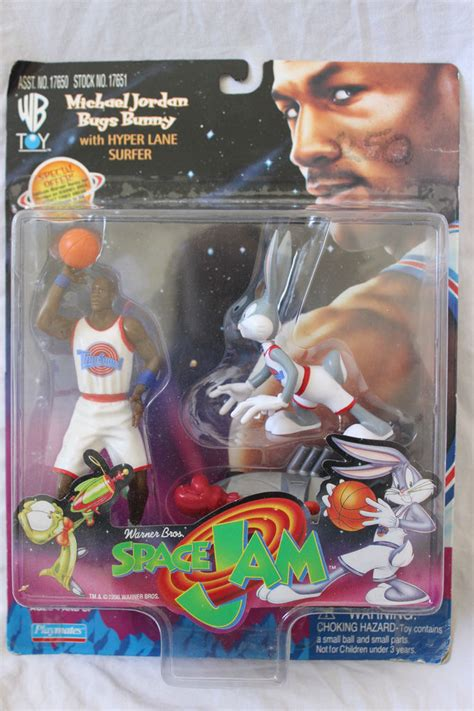 Playmates Space Jam Michael And Bugs Bunny Hyper Surfer space jam michael bugs bunny with hyper surfer figure ebay