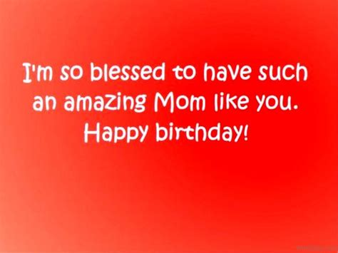 blessed to have mom 50 birthday wishes for mom