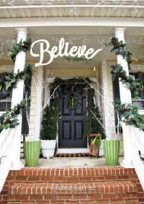 Outdoor Christmas Decorations Ideas Porch 56 Amazing Front Porch Christmas Decorating Ideas