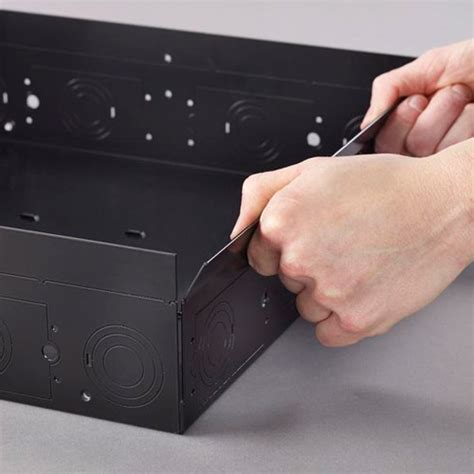 chief in wall storage box pac526f large in wall storage box with flange