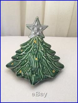 vintage mccoy christmas tree cookie jar