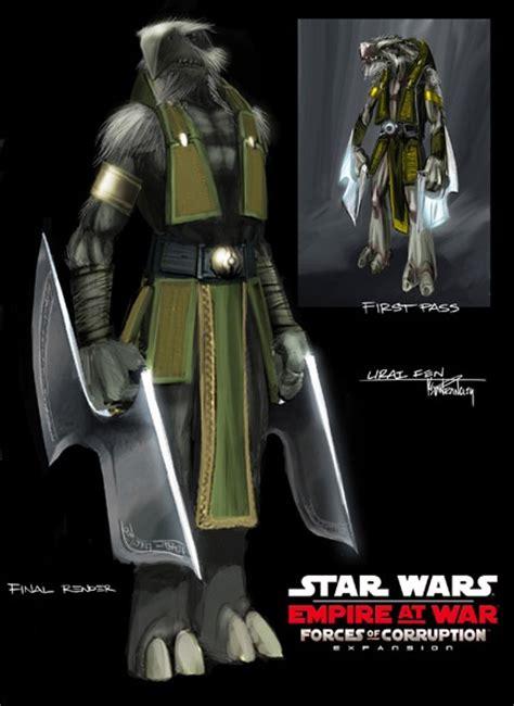 star wars empire  war forces  corruption concept art
