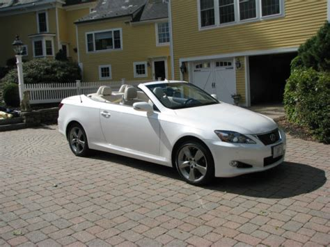 lexus convertible 4 door jthff2c22a2511991 2010 lexus is250 c convertible 2 door 2 5l
