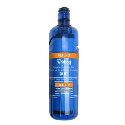 whirlpool water filter whirlpool w10413645a refrigerator water filter