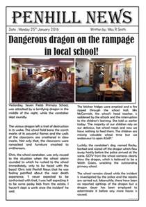 sighting newspaper report by roso28 teaching
