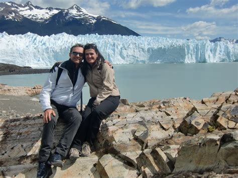 argentina turisti per caso prima di salire sul perito moreno viaggi vacanze e