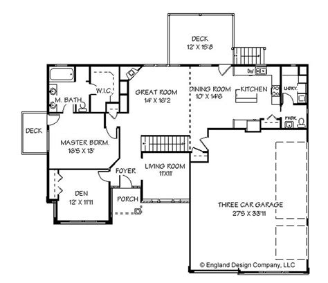 unique house plans one story one story with basement house plans unique 28 single