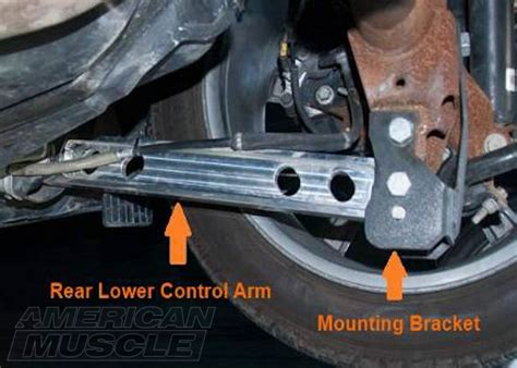 mustang rear lower arms why upgrade your mustang s lower arms