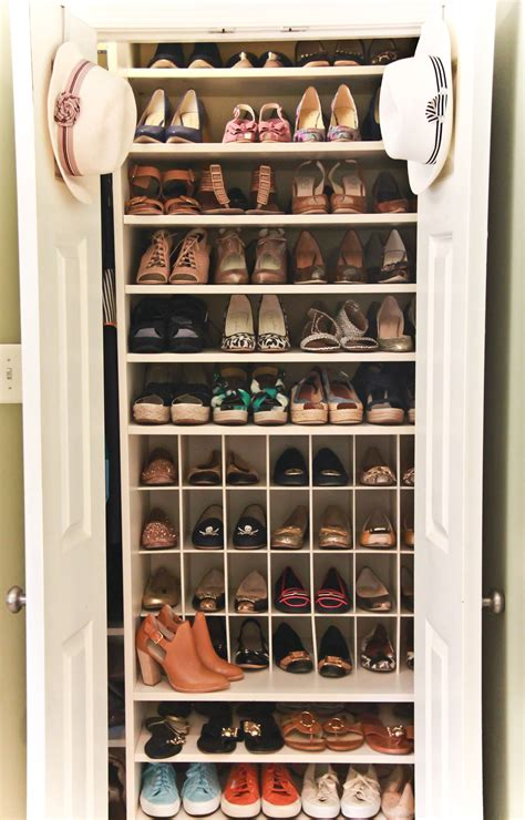 closet door shoe organizer furniture captivating wooden shoe organizer for saving