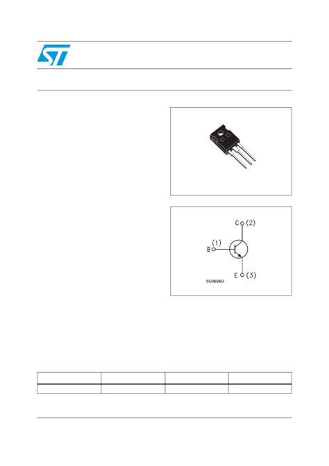 high voltage fast switching npn transistor buv48a datasheet high voltage fast switching npn power transistor