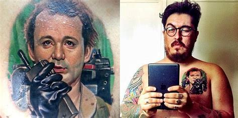 bill murray tattoo fanboy fashion tag archive ghostbusters