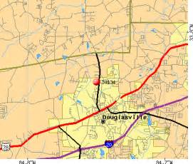 douglasville ga map